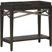 Bassett Woodridge Collection Chairside Table