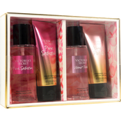 Victoria's Secret Pure Seduction and Velvet Petals Mist and Lotion 4 pc. Gift Set