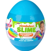 Nickelodeon Slime Neon Rainbow Giant Egg Surprise