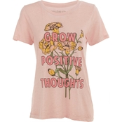 Rebellious One Juniors Burnout Positive Screen Tee