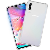 Case-Mate Protection Pack Clear Case + Glass Screen Protector Samsung Galaxy A70