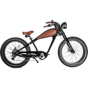 GlareWheel Electric Fat Tire Cafe Racer Bike