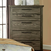 Furniture of America Berenice 5 Drawer Chest