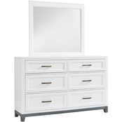 Signature Design by Ashley Brynburg Collection Dresser and Mirror Set