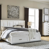 Signature Design by Ashley Brynburg Storage Bed 5 pc. Bedroom Set