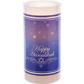 Kurt S. Adler LED 6 in. Hanukkah Candle Decor