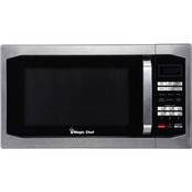 Magic Chef 1.6 cu. ft. 1100W Countertop Microwave Oven
