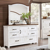 Furniture of America Alyson Collection Dresser and Mirror