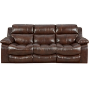 Catnapper Positano Reclining Leather Sofa