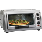 Hamilton Beach Easy Reach Toaster Oven with Roll Top Door