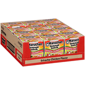 Maruchan Instant Lunch Sriracha Chicken Noodles 2.25 oz, 12 pk.