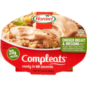 Hormel Compleats Chicken Breast and Dressing, 9.5 oz. 6 pk.