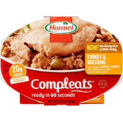 Hormel Compleats Turkey and Dressing, 10 oz. 6 pk.