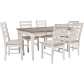Signature Design by Ashley Skempton 7 pc. Rectangular Dining Set