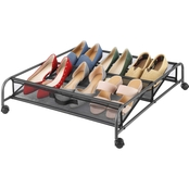 Whitmor Gunmetal Underbed Cart