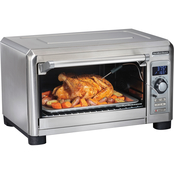 Hamilton Beach Professional Digital Countertop Oven with Probe  7 Settings