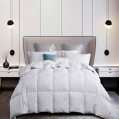 Martha Stewart Collection White Goose Down and Feather Comforter