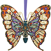 ChemArt Vibrant Butterfly Ornament