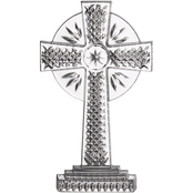 Waterford Standing Cross Ornament 4.8 in.