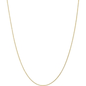 14K Yellow Gold 1.00mm Parisian Wheat Chain 18 in.