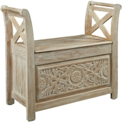 Signature Design by Ashley Fossil Ridge Collection Accent Bench
