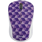 Verbatim Wireless Notebook Multi Trac Blue LED Mouse