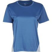 PBX Pro High Low Tee with Marled Side Inserts