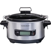 Hamilton Beach Advanced Temp Tracker 6 qt. Slow Cooker