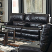 Catnapper Wembley Collection Leather Reclining Loveseat