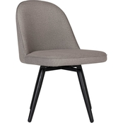 Studio Designs Dome Armless Swivel Chair