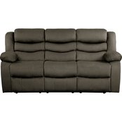 Homelegance Discus Double Reclining Sofa