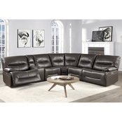 Homelegance Dyersburg II 6 pc. Reclining Sectional