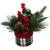 Ice Design Factory Christmas Decorated Tabletop Arrangement