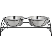 Harmony Brushed Stainless Steel Double Diner