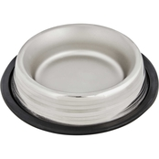 Harmony Two Toned No Tip Stainless Steel Dog Bowl