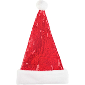Gigi Seasons Sequin Santa Hat