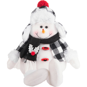 Gigi Seasons Stuffed Snowman with Long Dangling Legs 16 in.