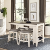 Homelegance Timbre Counter Height 5 pc. Table Set