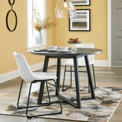 Signature Design by Ashley Centiar Round 3 pc. Dining Set