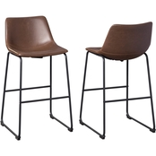 Signature Design by Ashley Centiar Collection Tall Bar Height Stool 2 pk.