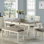 Homelegance Granby Collection 6 pc. Table Set