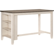 Homelegance Timbre Collection Counter Height Table