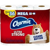 Charmin Strong Mega Roll Toilet Paper 9 ct.