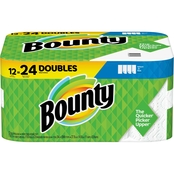 Bounty Double Roll Select A Size 12 pk.