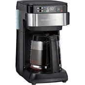 Hamilton Beach Smart 12 Cup Coffee Maker, Alexa Compatible