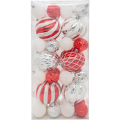 Gigi Seasons Assorted Size Shatter Resistant 38 pc. Ornament Set
