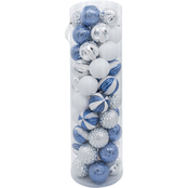 Gigi Seasons Wrap Around Shatter Resistant Ornament Set 50 ct.