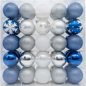 Gigi Seasons Large Shatter Resistant Ornament Set 50 ct.