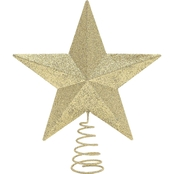 Gigi Seasons Glitter Tree Top Star