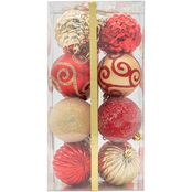 Gigi Seasons 16 ct. Shatter-Resistant Decorated Ornament Set